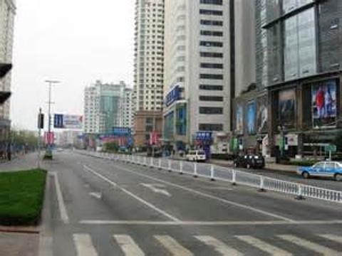 香港中路商业街旅游景点图片