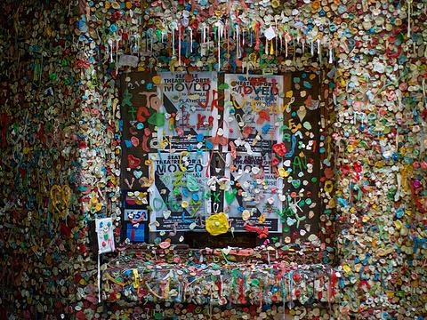 口香糖墙旅游景点图片