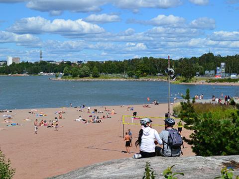 Hietaniemi 海滩旅游景点图片