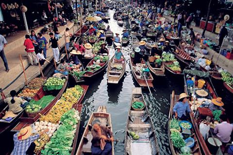 芭堤雅水上市场