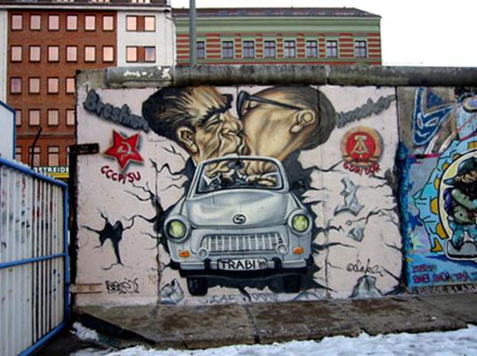 柏林墙旅游图片