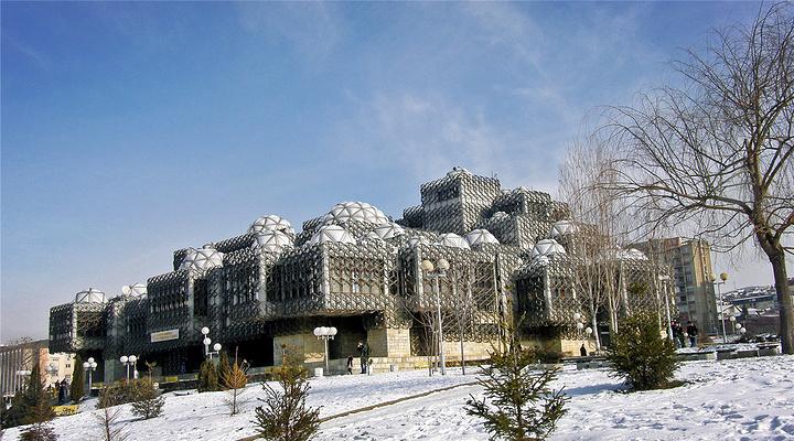 科索沃国家图书馆旅游图片