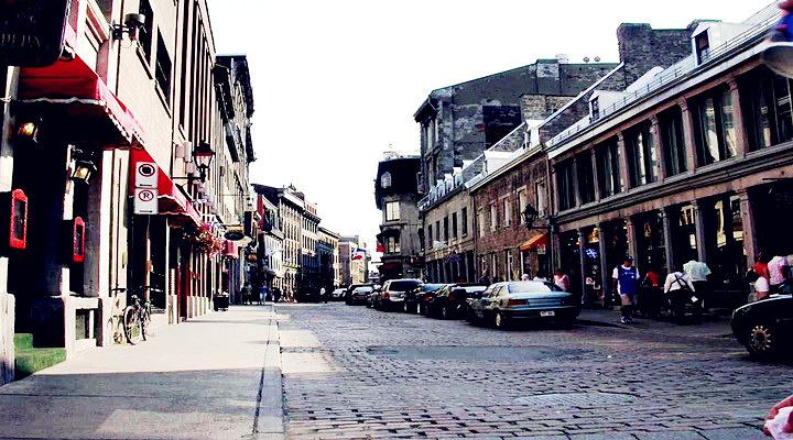旧蒙特利尔城旅游图片