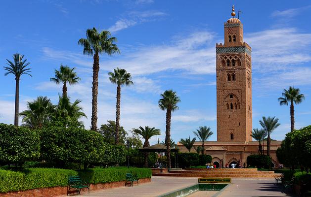 库图比亚清真寺旅游图片