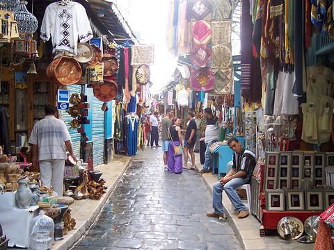 突尼斯旧城区旅游景点图片