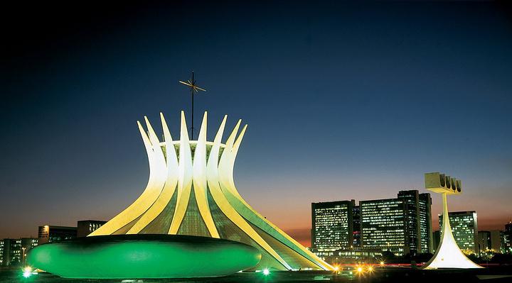 巴西利亚大教堂旅游图片