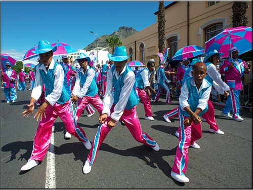 吟游诗人嘉年华会(Cape Town Minstrel Carnival)