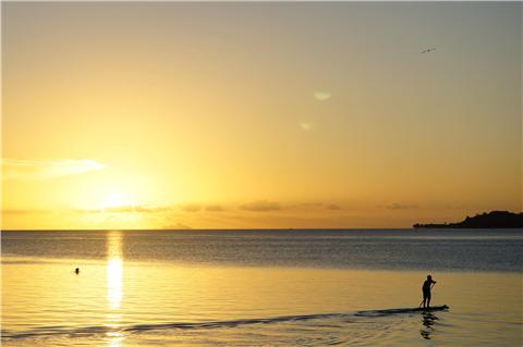 马蒂纳海滩日落