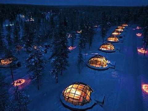 玻璃屋度假村旅游景点图片