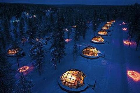 玻璃屋度假村