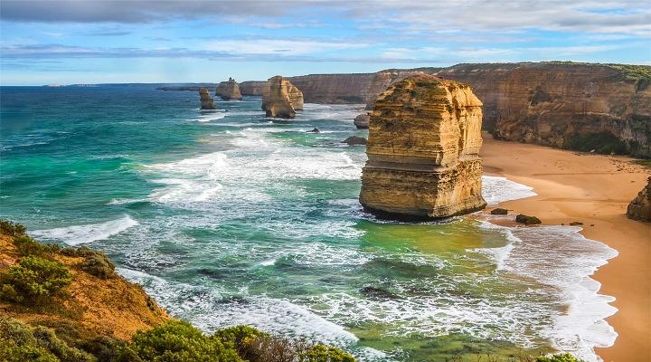 十二使徒岩旅游图片