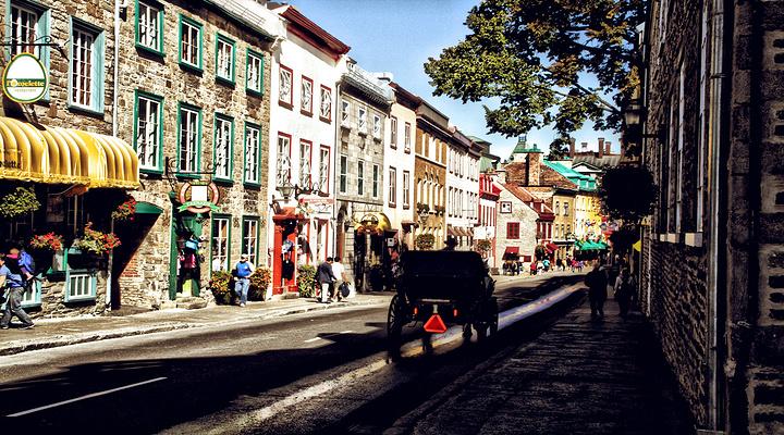 魁北克老城旅游图片