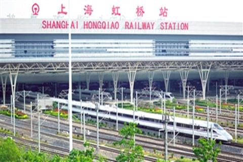 上海虹桥站的图片