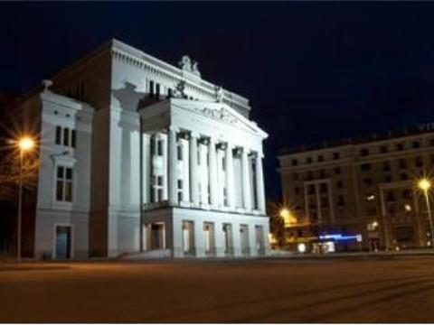 拉脱维亚国家歌剧院旅游景点图片