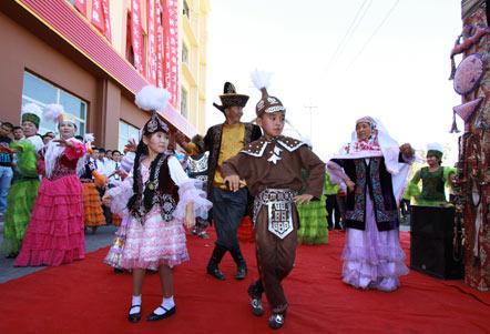 伊宁市民俗文化节