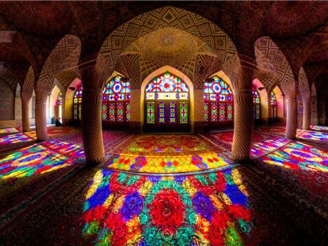 粉红清真寺旅游景点图片