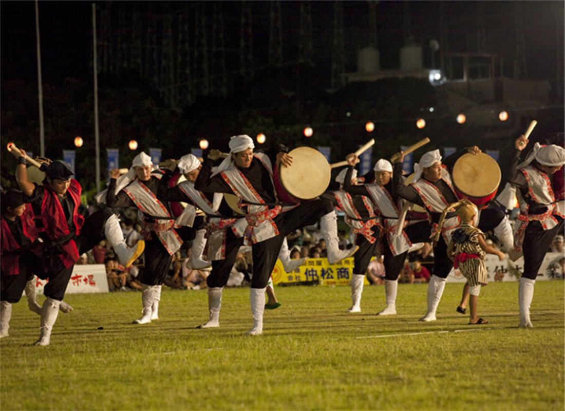 冲绳全岛太鼓舞祭典