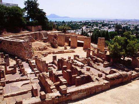 迦太基古城遗址旅游景点图片