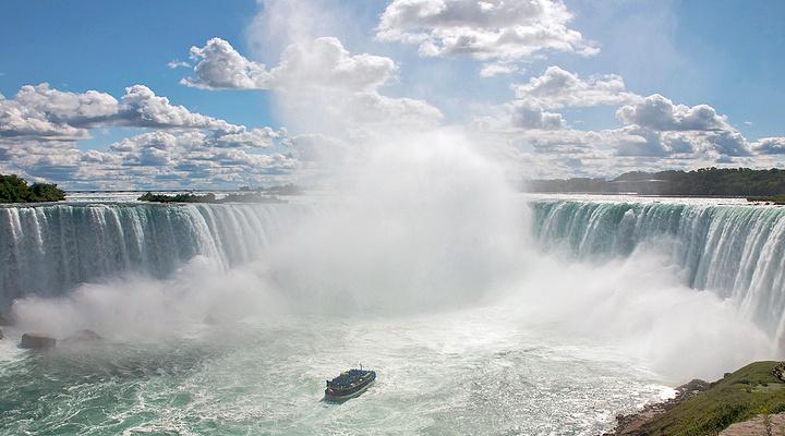 马蹄瀑布旅游图片