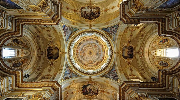 贝加莫大教堂旅游图片