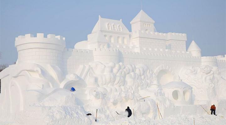 雪之城堡旅游图片