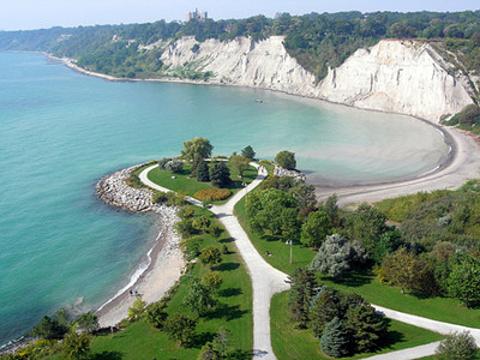 悬崖公园旅游景点图片