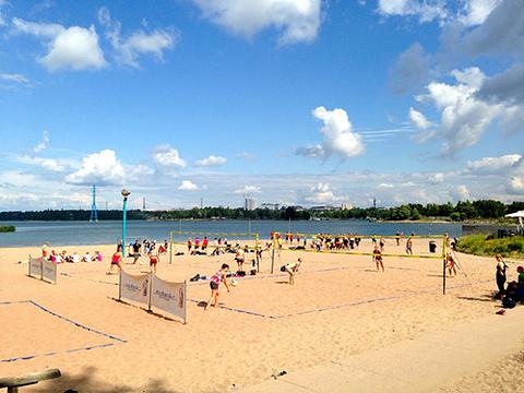 Hietaniemi 海滩的图片