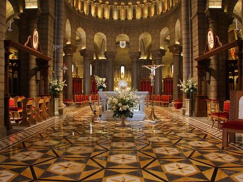 摩纳哥大教堂旅游景点图片