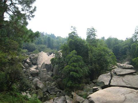 溪霞风景区旅游景点图片