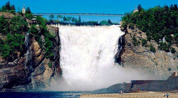 蒙特伦西瀑布旅游图片