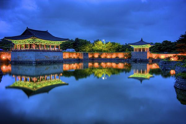雁鸭池旅游图片