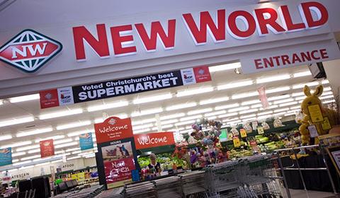 New World超市