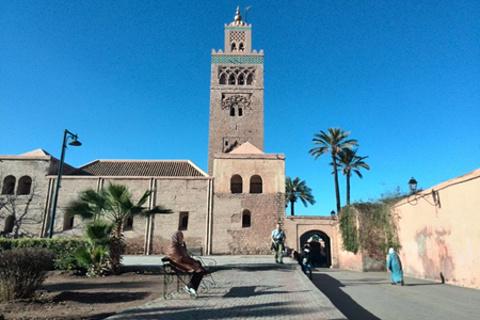 马拉喀什旅游景点图片