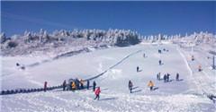 仙女山滑雪