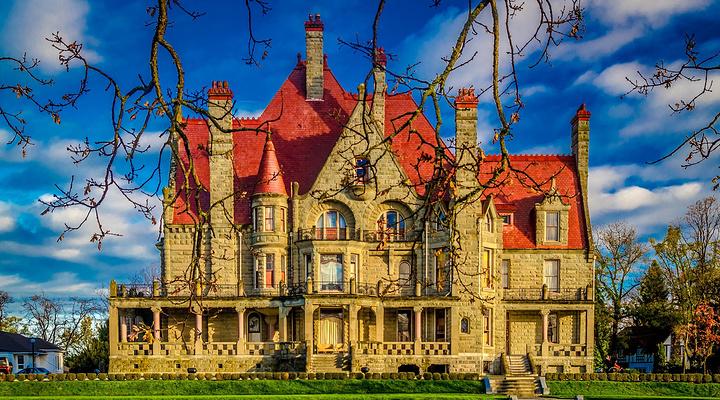 橡树城堡旅游图片