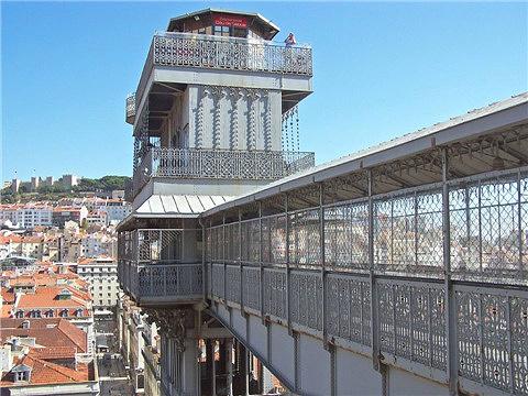 圣胡斯塔升降机的图片