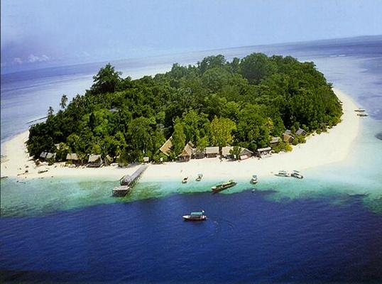 西巴丹岛旅游图片