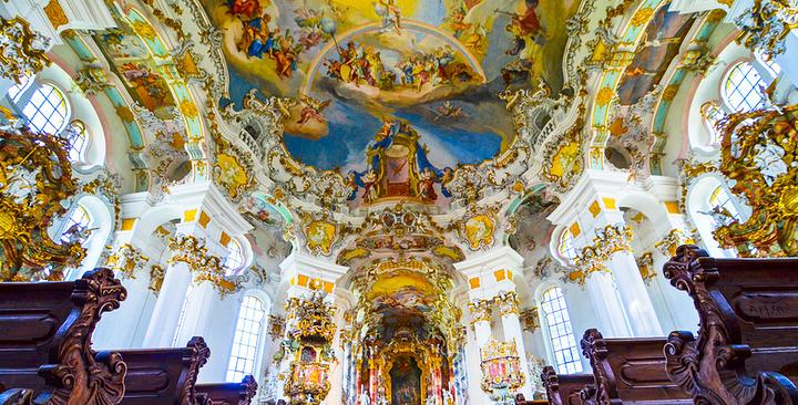 维斯朝圣教堂旅游图片