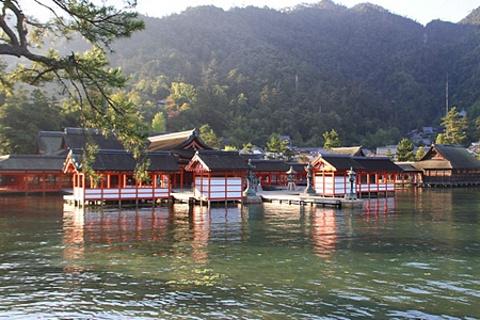 宫岛的图片