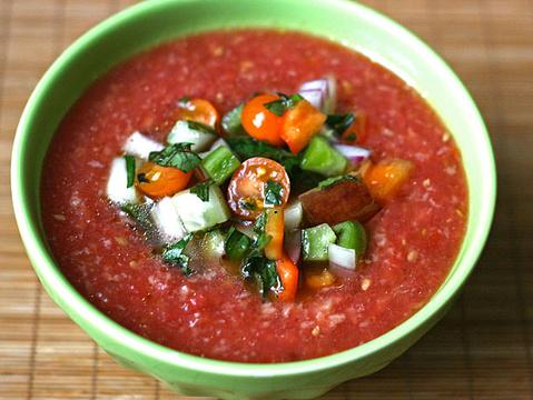 西班牙冷汤菜