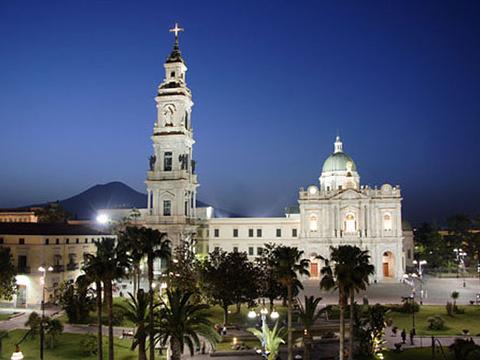 庞贝玫瑰圣母堂旅游景点图片