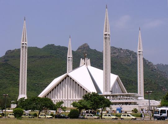 费萨尔清真寺旅游图片