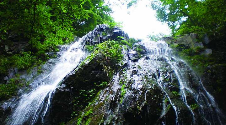藏龙百瀑旅游图片