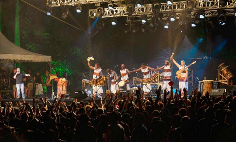 世界热带雨林音乐节