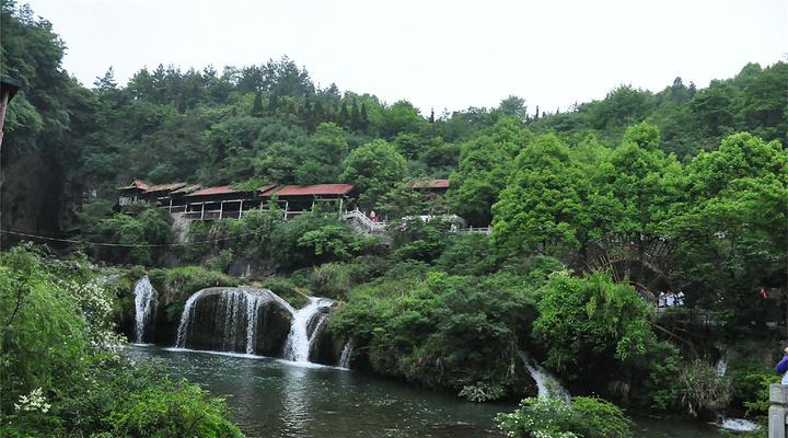 天河潭旅游图片