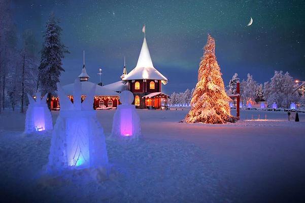圣诞老人村旅游图片