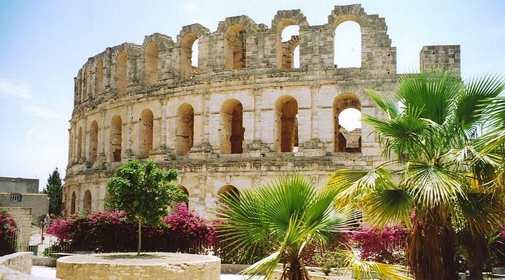 古罗马斗兽场旅游图片