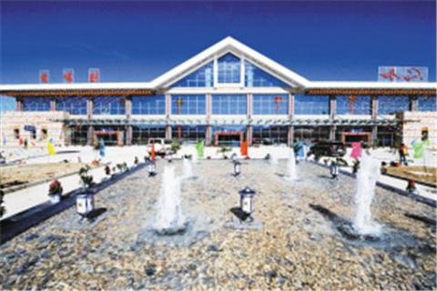 和平机场的图片