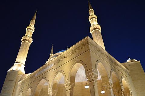 贝鲁特蓝色清真寺的图片