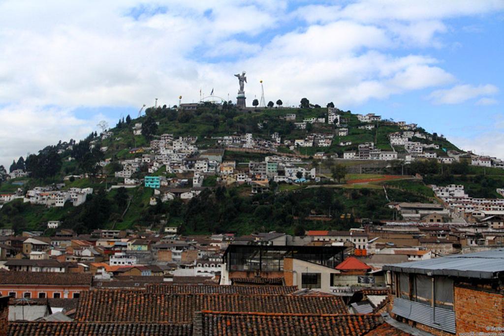 美洲 厄瓜多尔首都 基多市 - 西部落叶 - 《西部落叶》· 余文博客